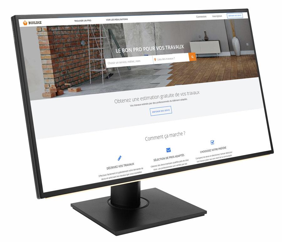 La startup Buildiz accompagnée par le BIC Innov'up