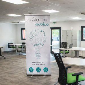 La Station Coworking au BIC Innov'up