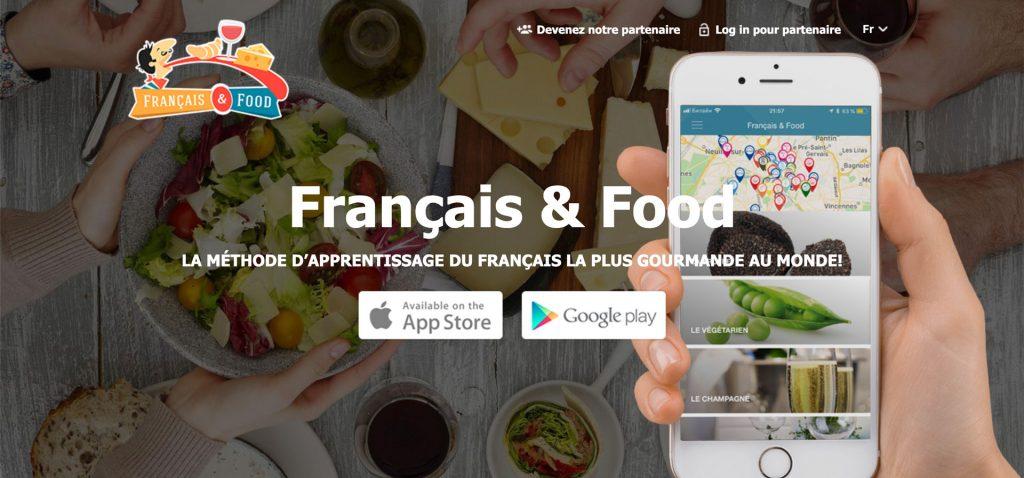 Français & Food : la méthode d'apprentissage du français la plus gourmande au monde